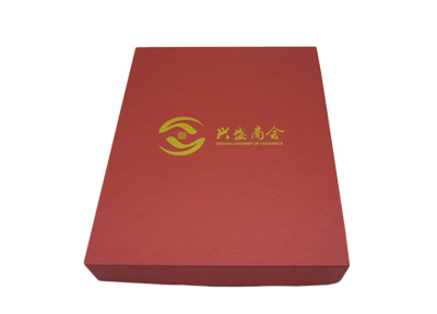 兴盛商会围巾盒定制案例