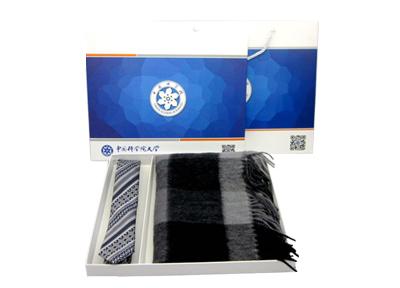 中国科学院大学围巾盒定制案例