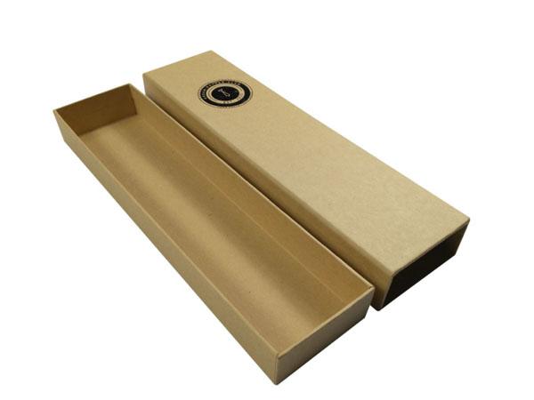 牛皮纸领带礼盒 领带包装收纳盒