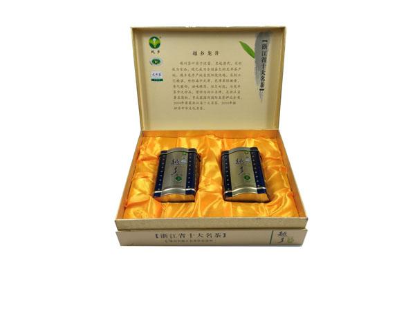 龙井茶叶包装盒定制