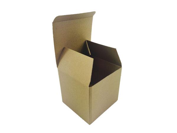 精致手工瓦楞折盒包装定制