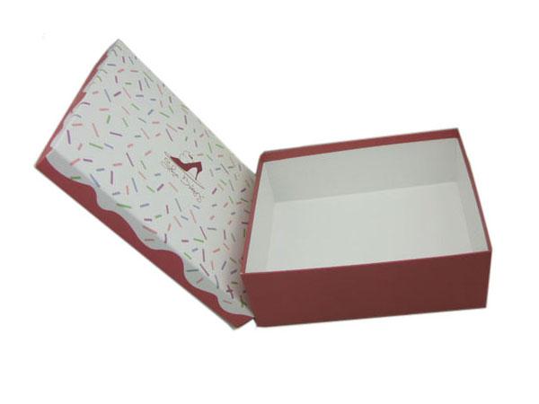 高档精致鞋盒包装收纳盒定制