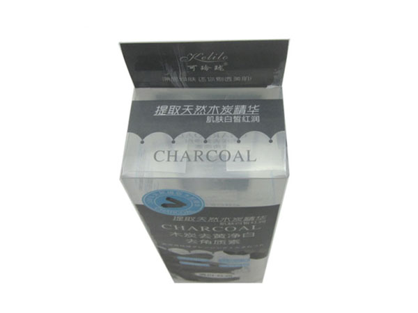时尚精致PVC护肤品包装盒定制
