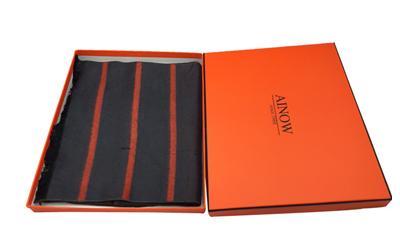 围巾包装盒定制设计