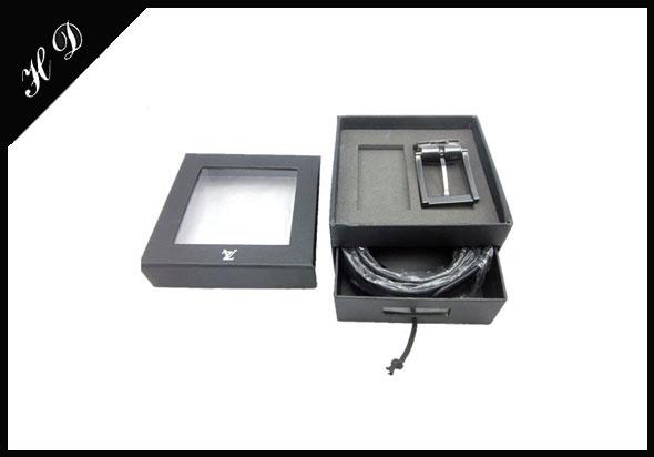 高档商务品牌皮带礼盒定制