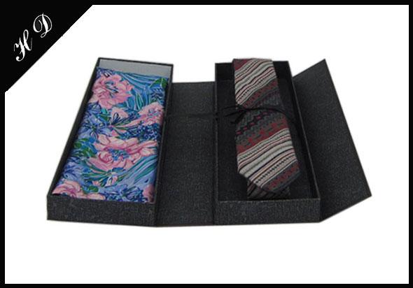 领带丝巾组合套装包装盒设计效果图