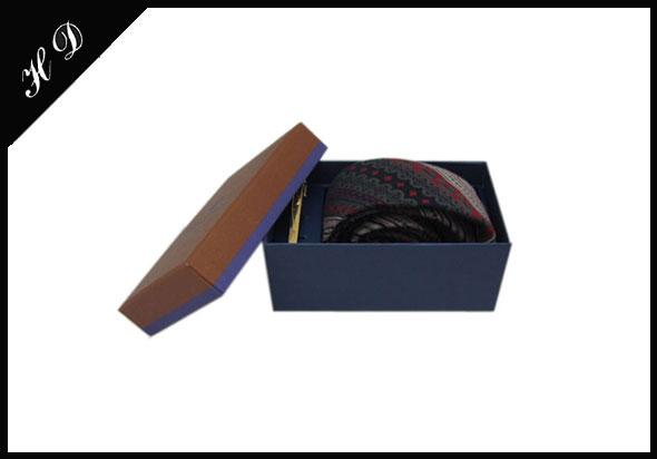 领带礼盒包装盒厂家设计图