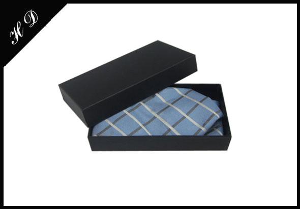 领带包装盒礼盒黑色效果图