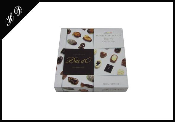巧克力包装盒礼盒包装定制批发效果图