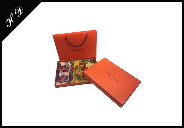 高档围巾礼盒包装盒定制厂家设计效果图