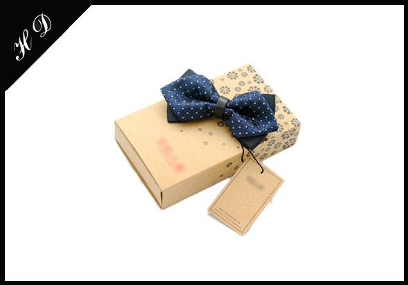 牛皮纸领结包装盒批发_包装盒厂家定制设计效果图