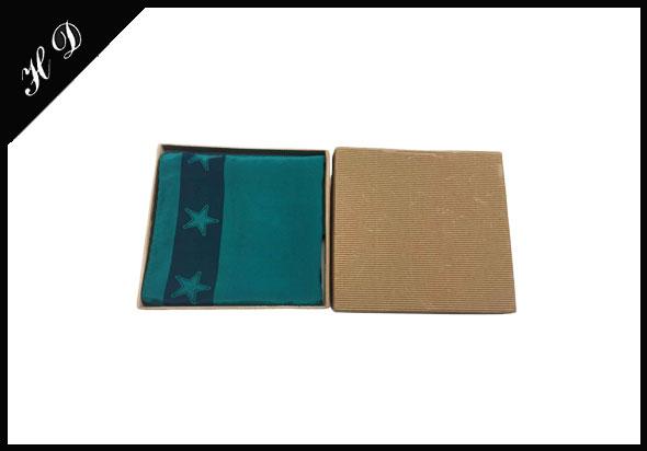 丝巾礼品包装盒厂家批发定制设计效果图