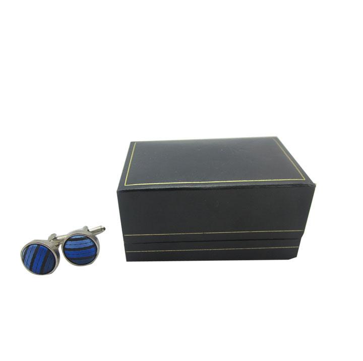 商务袖扣展示盒 精致袖扣包装盒