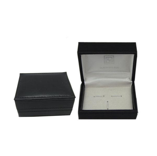 塑胶电镀袖扣盒订制 袖扣盒子批发