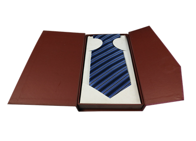 高档领带收纳盒 领带盒包装厂家