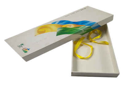 高档领带收纳盒设计 丝巾盒子定制