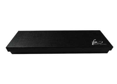 黑色商务丝巾包装盒 高档丝巾礼盒