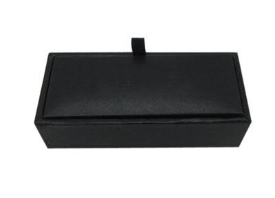 仿皮领带夹包装盒 商务袖扣礼盒