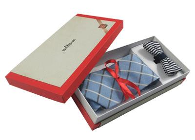 商务领带包装盒 领结礼盒包装