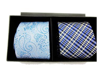 商务领带礼品盒 领带收纳包装盒