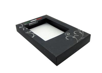 黑色商务衬衫盒 品牌男装衬衫盒