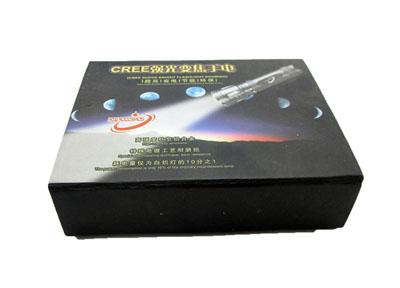 专业简约时尚手电筒包装盒设计定制