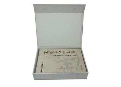 时尚大气碟片光盘包装盒定制