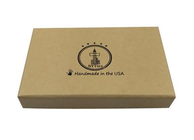 牛皮纸礼品包装盒 创意复古礼品盒