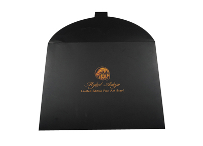 商务围巾包装盒 高档丝巾包装纸盒