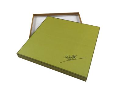 高档丝巾包装盒 精致丝巾纸盒定制