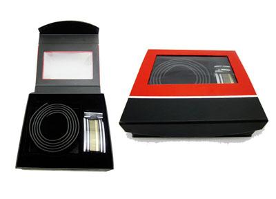 男士皮带包装礼盒定制设计