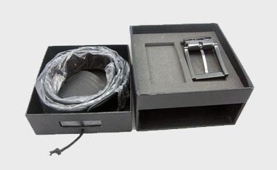 高檔男士商務皮帶包裝盒設計圖