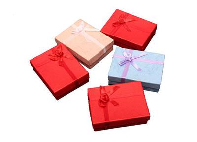 高档珠宝包装盒定制批发